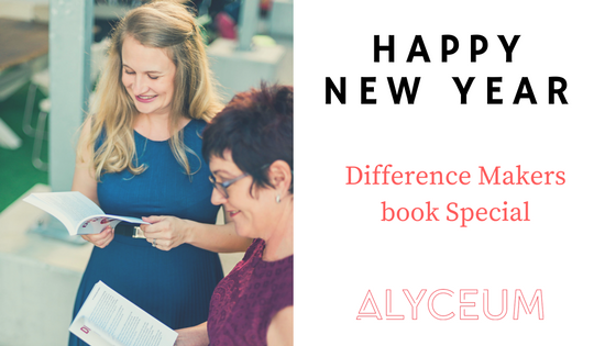 Happy New Year. Difference Makers Book Special